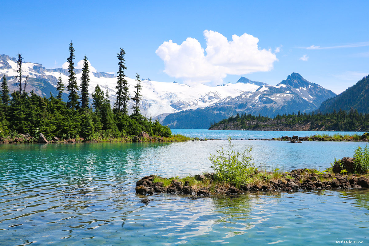 Garibaldi Lake trail hike