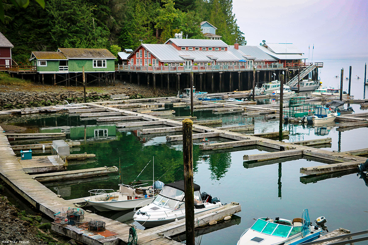 Telegraph Cove, North Vancouver Island