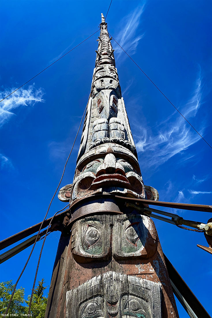 Alert Bay, North Vancouver Island, The World's Tallest Totem Pole