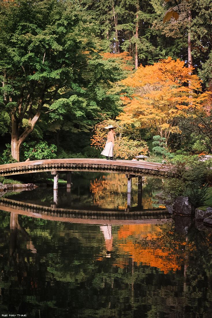 Nitobe Memorial Garden, UBC, Vancouver, Ботанический Сад UBC