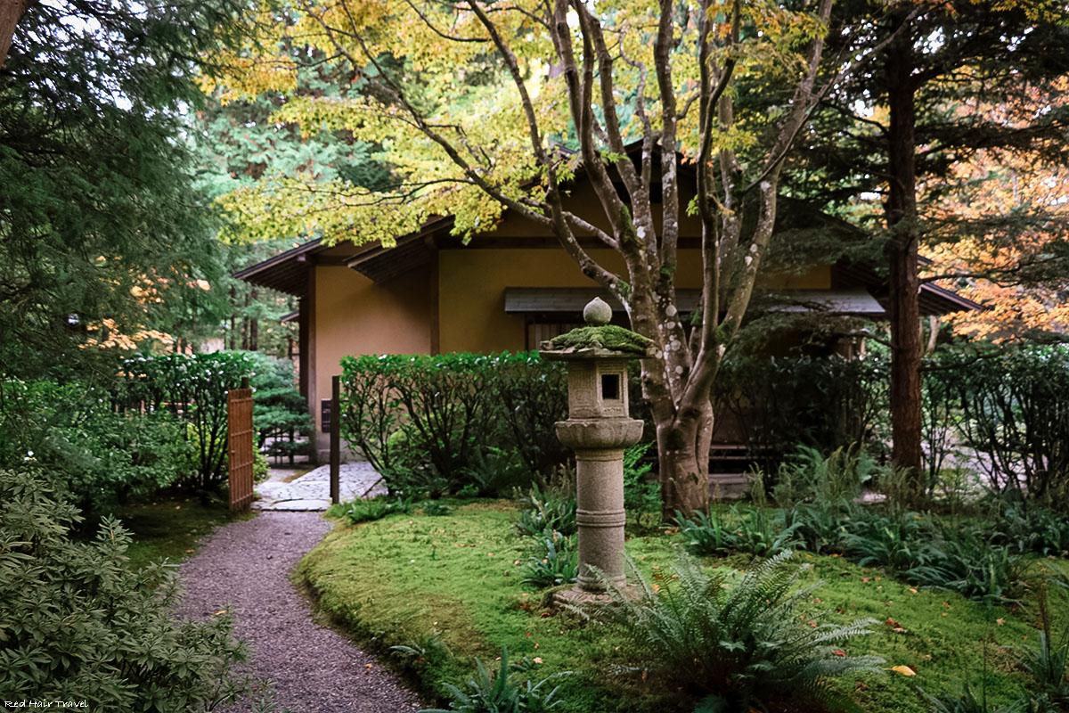Чайный дом, Nitobe Memorial Garden