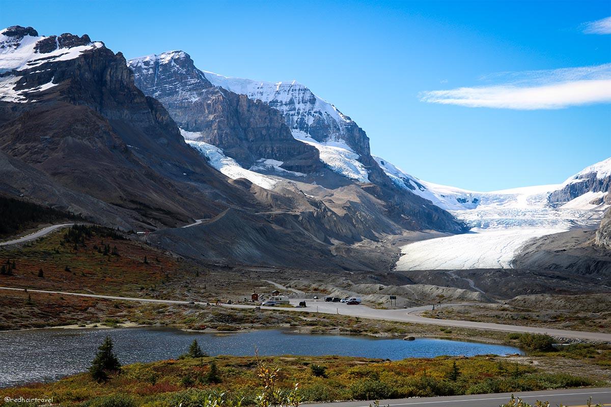 Athabasca Glacier, Ледник Атабаска, Скалистые Горы, Канада, Парк Джаспер