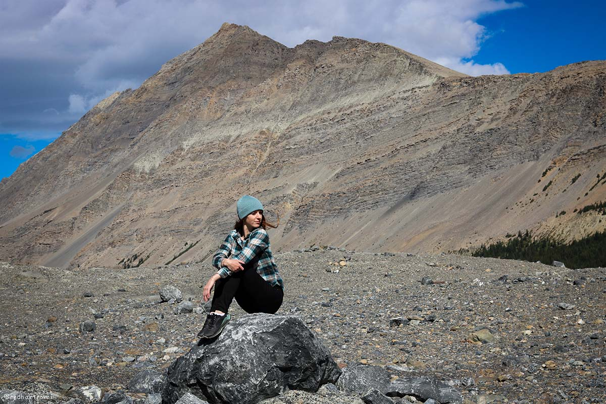 Athabasca Glacier, Rockies, Canada