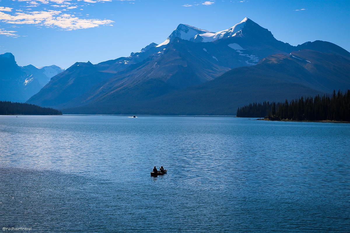Maligne Lake, Джаспер