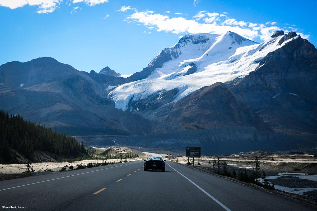 Stutfield Glacier Viewpoint, Rockies, Canada, Скалистые горы