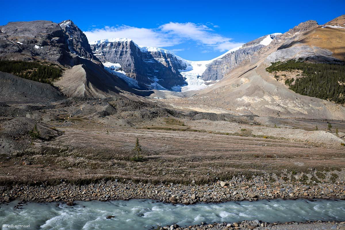 Stutfield Glacier Viewpoint, Rockies, Canada, Скалистые горы, Джаспер