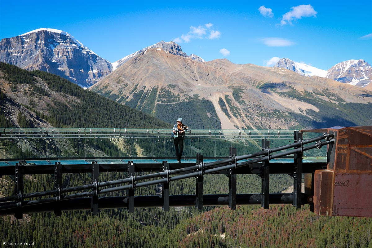 Columbia Icefield Skywalk, Скалистые горы, Канады, Джаспер